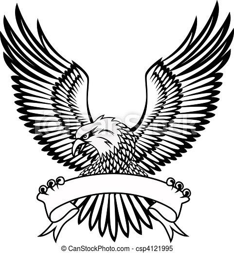 águia, emblema - csp4121995