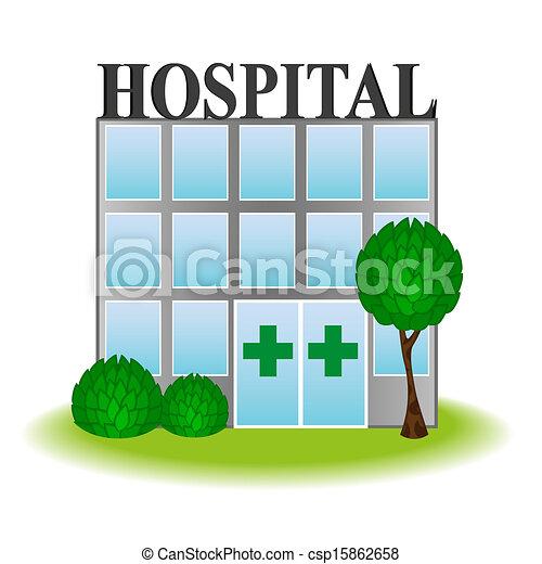 ícone, hospitalar, vetorial - csp15862658