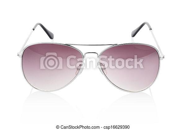 óculos de sol, aviador - csp16629390