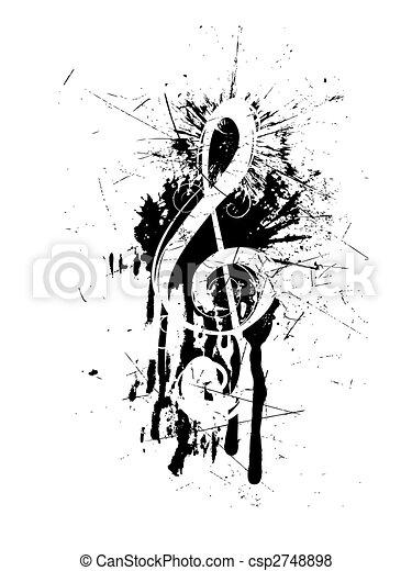 abstratos, clef - csp2748898