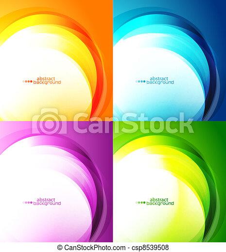 abstratos, fundos - csp8539508