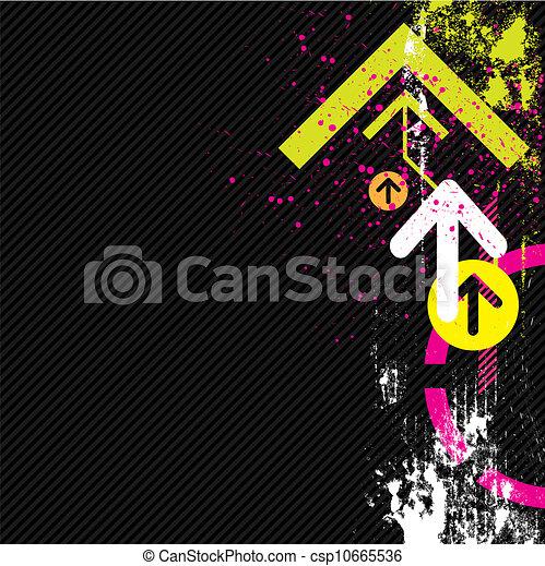 abstratos, grunge, fundo - csp10665536