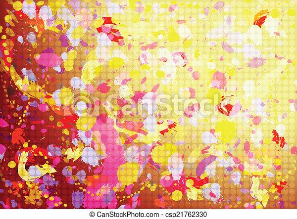 abstratos, grunge, fundo - csp21762330