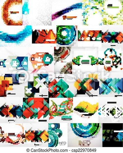 abstratos, jogo, fundos - csp22970849