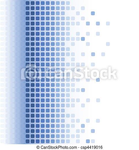abstratos, mosaico, fundo - csp4419016