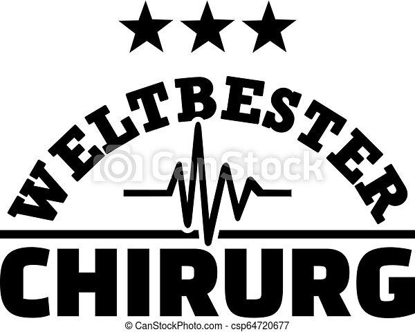 alemão, mundos, cirurgião, macho, melhor - csp64720677