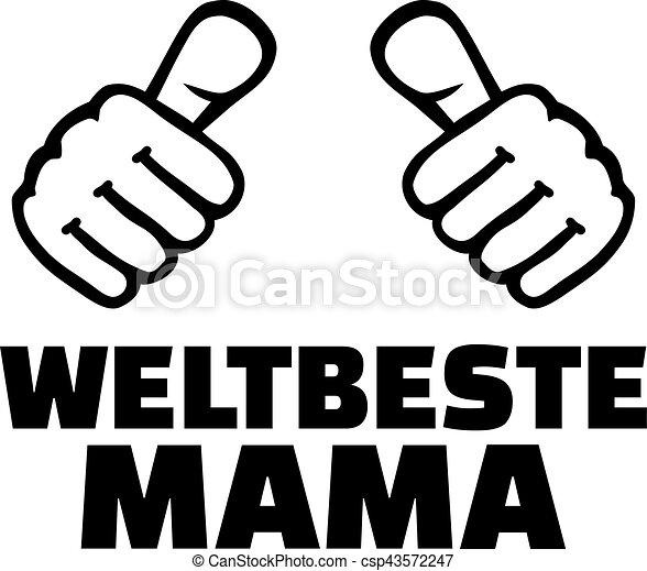 alemão, mundos, melhor, mãe - csp43572247