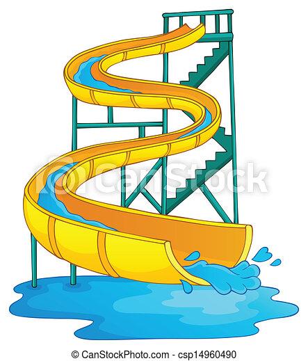 aquapark, imagem, 2, tema - csp14960490