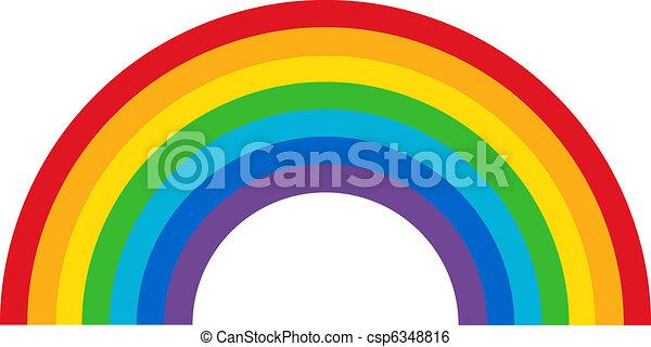 arco íris, clássicas - csp6348816