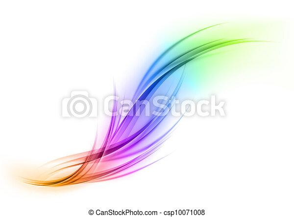 arco íris, forma - csp10071008