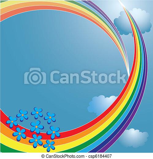 arco íris - csp6184407