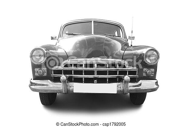 automóvel, retro - csp1792005