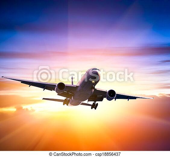 avião - csp18856437