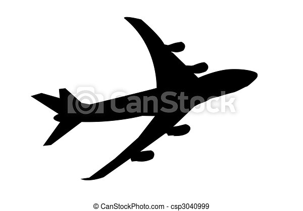 avião, jato - csp3040999