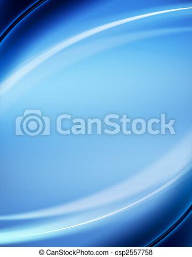 azul, abstratos, fundo - csp2557758