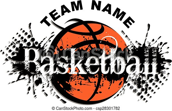 basquetebol, desenho - csp28301782