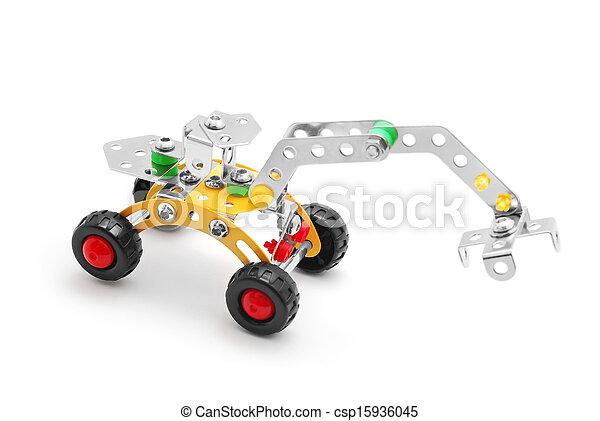 brinquedo, escavador - csp15936045