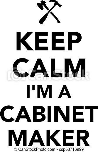 cabinetmaker, pacata, mantenha - csp53716999