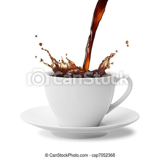 café, respingo - csp7052368