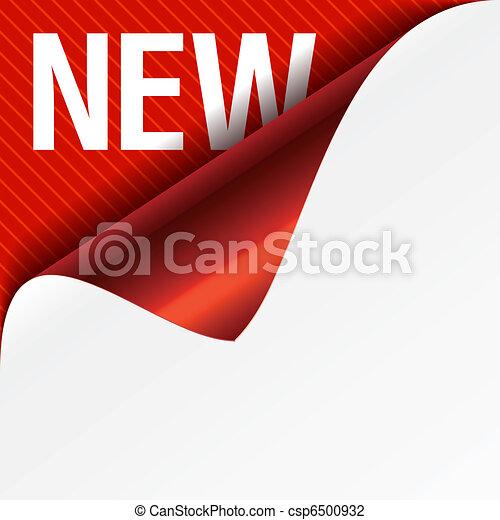 canto, ondulado, -, sinal, novo - csp6500932