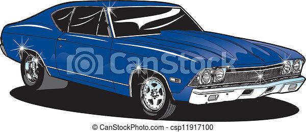 car, músculo - csp11917100