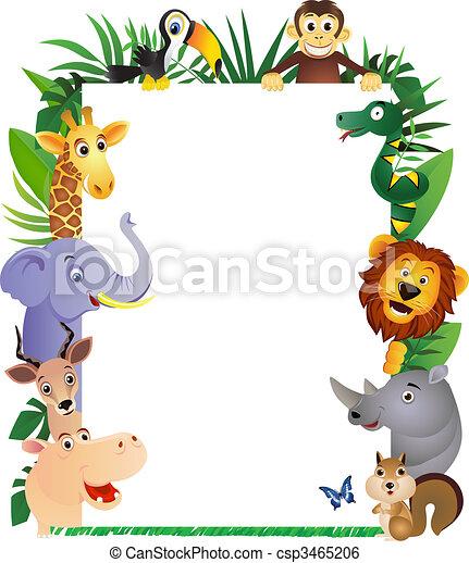 caricatura, animal - csp3465206