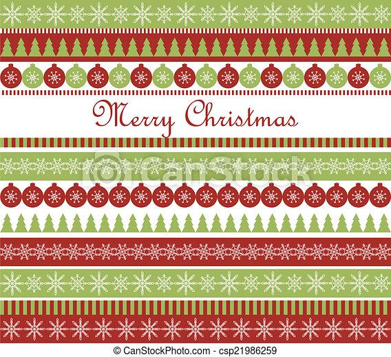cartão natal, saudação - csp21986259