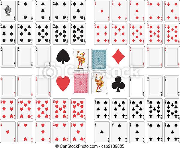 cartões, tocando - csp2139885