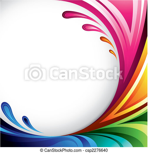 coloridos, fundo - csp2276640