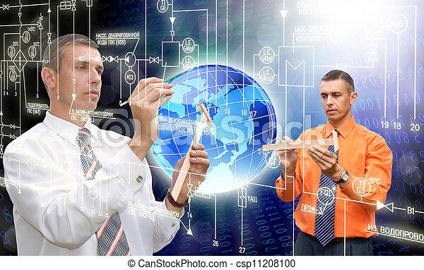 computadores, tecnologia, inovador - csp11208100