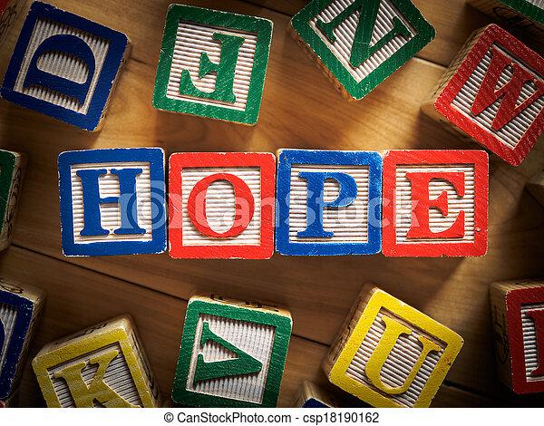 conceito, esperança - csp18190162