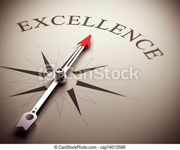 conceito, excelência, negócio - csp14012566