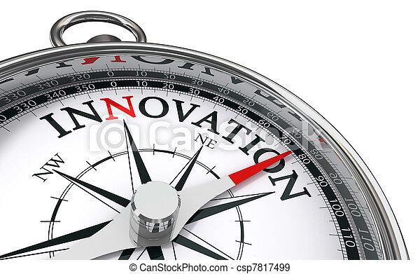 conceito, inovação, compasso - csp7817499
