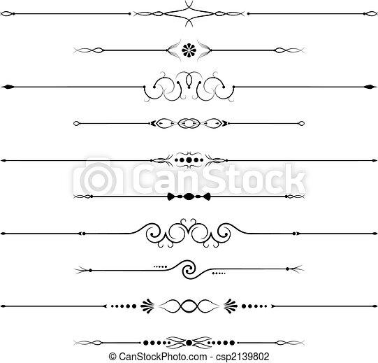 decorações, página - csp2139802