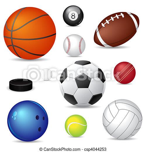 desporto, bolas - csp4044253