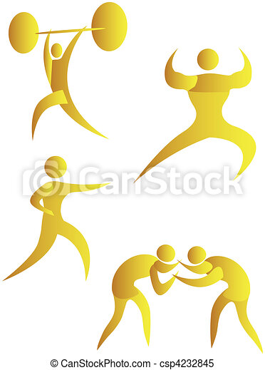 diferente, human, cobrança, arabescos, esportes - csp4232845