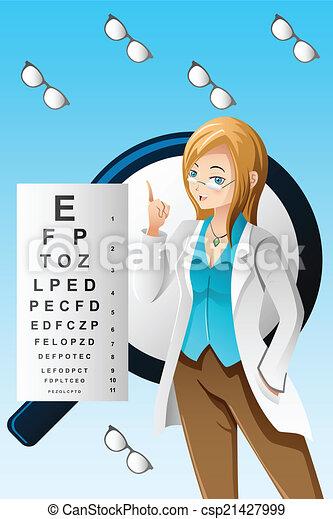 doutor olho - csp21427999