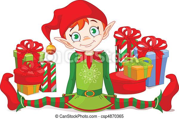 duende, presentes natal - csp4870365