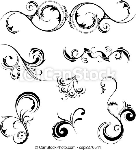 elementos, desenho - csp2276541