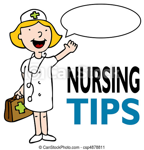 enfermeira, equipamento médico - csp4878811