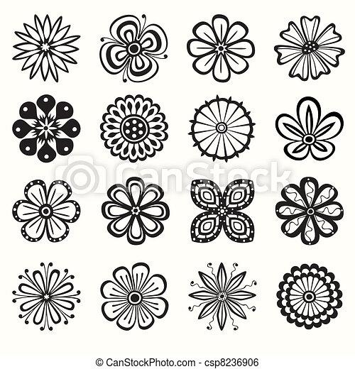 flores, cobrança - csp8236906