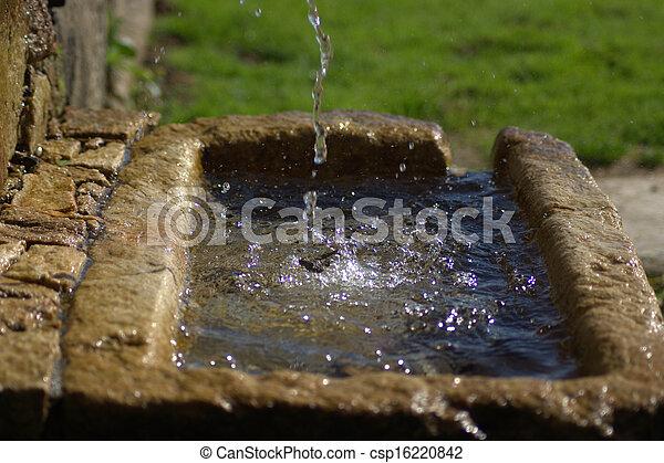 fonte água - csp16220842