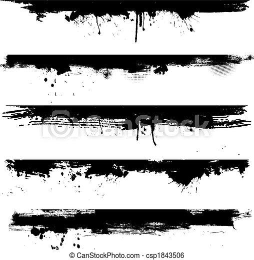 fronteiras, grunge, detalhe - csp1843506