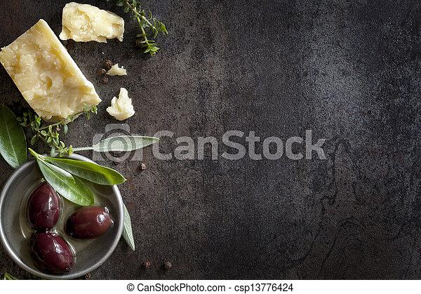 fundo, alimento - csp13776424