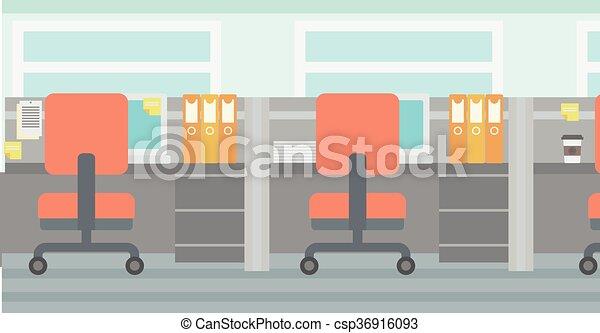 fundo, escritório, workplace. - csp36916093