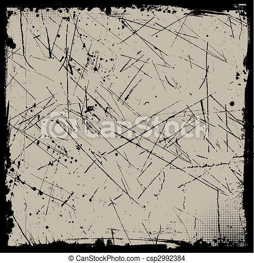 fundo, grunge - csp2992384