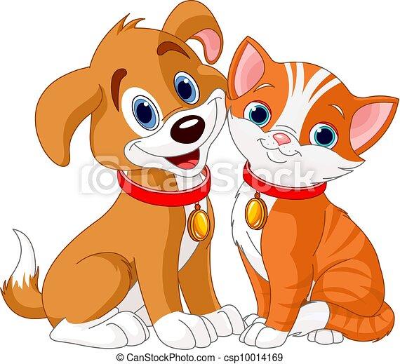 gato, cão - csp10014169