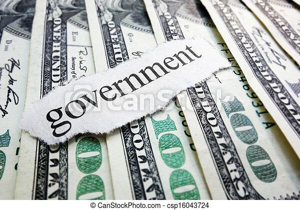 governo, dinheiro - csp16043724
