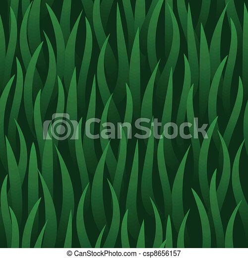 grama campo, verde, seamless, fundo - csp8656157