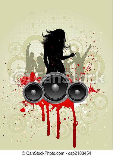 grunge, música - csp2183454